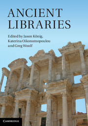 AncientLibrariescover
