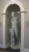 Apollo plaster cast, ca. 1902. Produced from the original marble sculpture, probably Roman, second century C.E. Gift of UNC Class of 1902   E. Baragwanath, 2009