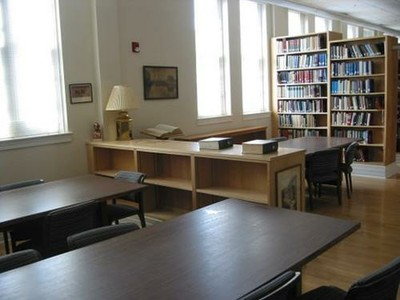 The remodeled Ullman Library in 2008.