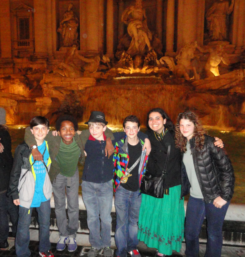 Susan Meyer explores Italy with her students.