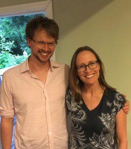 Markus Hafner and Emily Baragwanath