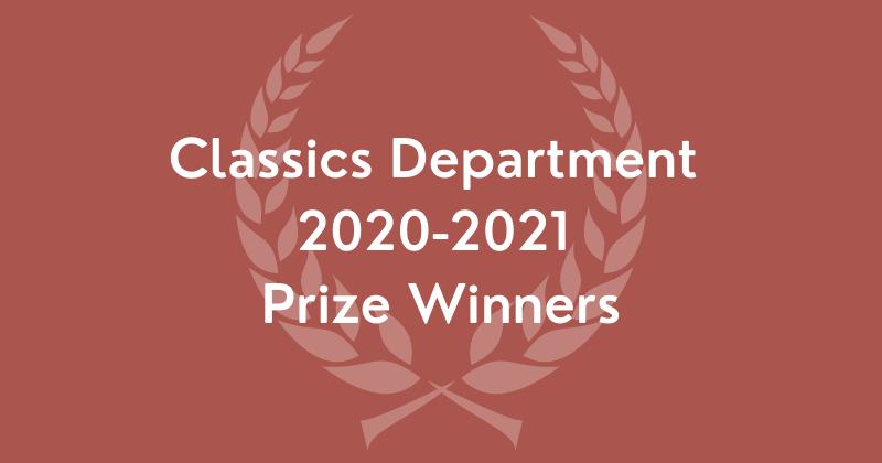 2020-2021 departmental prize winners banner