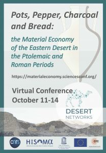 Pots, Pepper, Charcoal and Bread Virtual Conference flyer