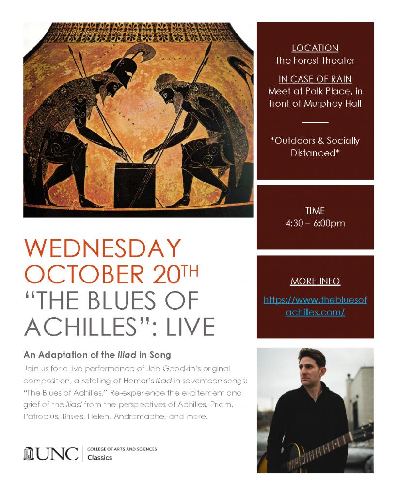 Blues of Achilles Flyer